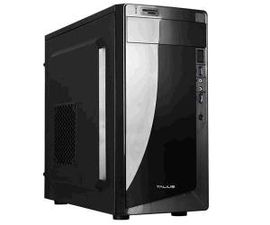 CAJA MICROATX TALIUS DENVER NEGRA 500W USB3.0+LECT 1