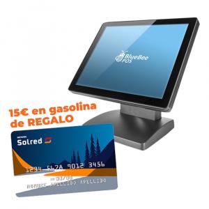 "TPV TACTIL 15"" BLUEBEE+TARJETA GASOLINA REPSOL 15€ 1"