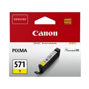 CARTUCHO CANON CLI-571Y AMARILLO  PIXMA MG5751, MG 1
