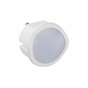LUZ TRANQUILIZANTE LEGRAND ON/OFF BLANCO CON BAT 1