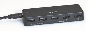 HUB USB LEGRAND 5 PUERTOS 7.2A 1