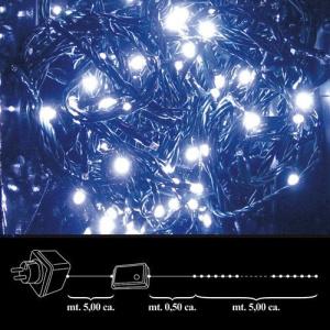 NAVIDAD LUCES 100 LEDS BLANCA INT./EXTERIOR IP44 1