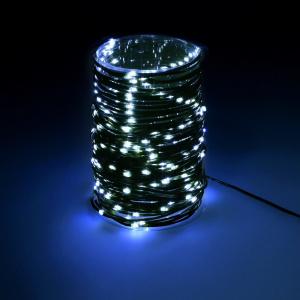 NAVIDAD LUCES 300 MICRO LED AZUL HIELO IP44 1