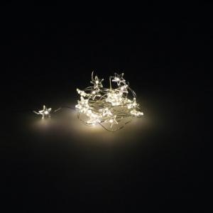 NAVIDAD LUCES ESTRELLAS 20 LED BLANCO CALIDO IP44 1