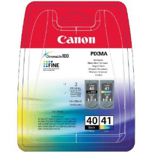 CARTUCHO CANON PG-40+CL-41 PIXMA IP1800/1900 PACK2 1