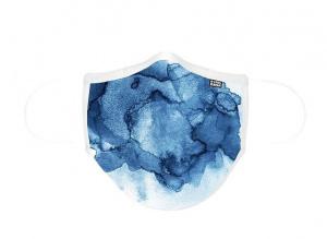 MASCARILLA DE TELA ADULTO D-COOL AQUARELA BLUE 1
