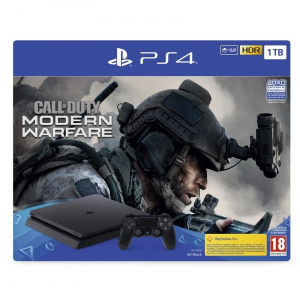 CONS. PS4 SLIM 1TB + CALL OF DUTY MW 2019 1
