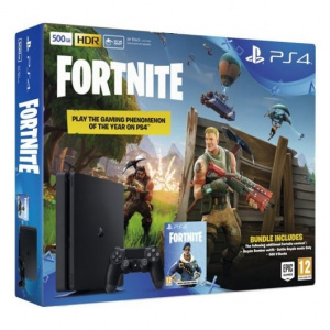 CONS. PS4 SLIM 500GB + FORNITE VCH 1