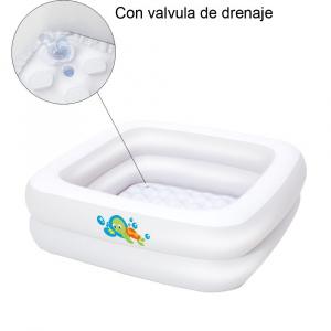 PISCINA INFANTIL CUADRADA 86X86X25 CM 1