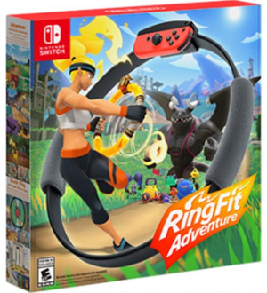 JUEGO RING FIT ADVENTURE PARA NINTENDO SWITCH 1