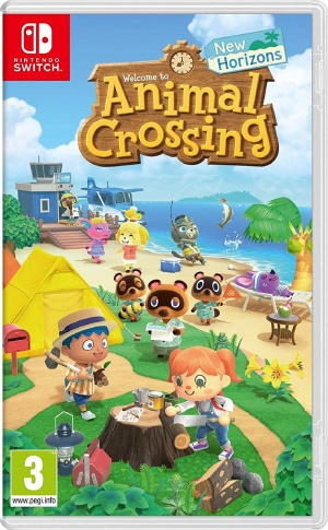 JUEGO ANIMAL CROSSING: NEW HORIZON NINTENDO SWICH 1