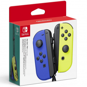 MANDOS SWITCH JOYCON AZUL AMARILLO 1
