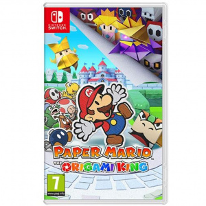 JUEGO NINTENDO SWITCH PAPER MARIO ORIGAMI KING 1