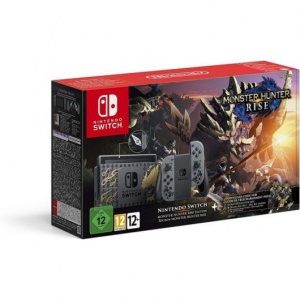 CONSOLA NINTENDO SWITCH MONSTER HUNTER RISE 1