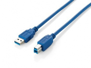 CABLE EQUIP USB 3.0 A-M/B-M 1M AZUL 1