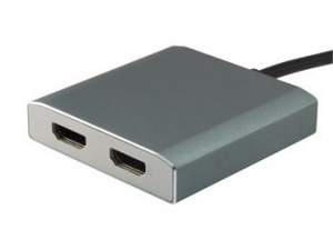 ADAPTADOR EQUIP USB TYPE-C A 2 HDMI HEMBRA 1