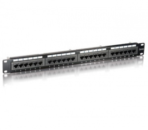 PANEL EQUIP 24P (PATCHPANEL) CAT.6E 1