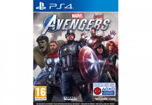 JUEGO PS4 MARVEL AVENGERS 1
