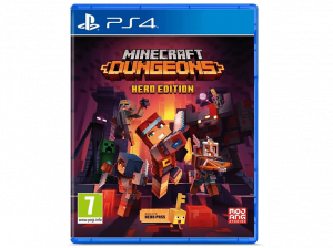 JUEGO PS4 MINECRAFT DUNGEONS HERO EDITION 1