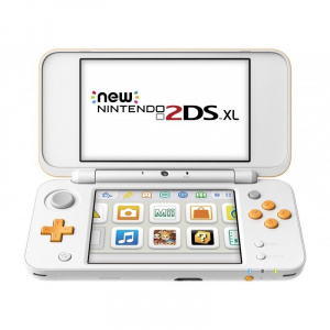 CONSOLA NINTENDO NEW 2DS XL BLANCO Y NARANJA 1