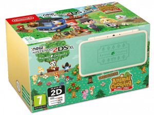 CONSOLA NINTENDO NEW 2DS XL + ANIMAL CROSSING 1