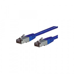 CABLE EQUIP RJ45 LATIGUILLO F/UTP CAT.5E 1M AZUL 1