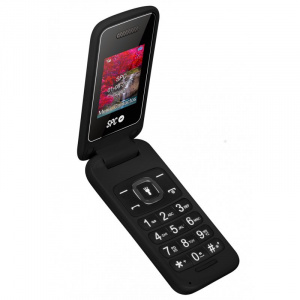 TELEFONO MOVIL SPC FLIP NEGRO 1