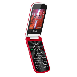 """TELEFONO MOVIL SPC EPIC ROJO 2.8"""" 1"""