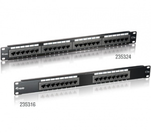 PANEL EQUIP 24P (PATCHPANEL) CAT.5E 1