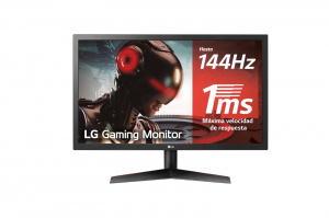 "MONITOR GAMING  23.6"" LG 24GL600F-B FHD HDMI/DP 1"