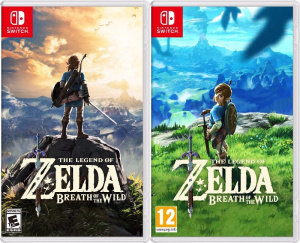 JUEGO LEGEND OF ZELDA BREATH OF THE WILD 1