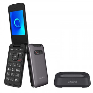 "TELEFONO MOVIL ALCATEL 3026X GRIS 2.8"" 1"