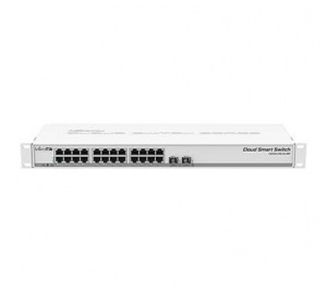 SWITCH MIKROTIK CLOUD SMART CSS326-24G-2S+RM 1