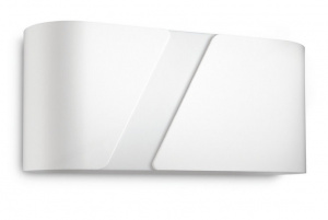 LAMPARA PARED PHILIPS GAINSBORO WALL WHITE 1