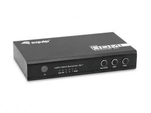 SWITCH HDMI EQUIP 3X1 CON MANDO 4K 1
