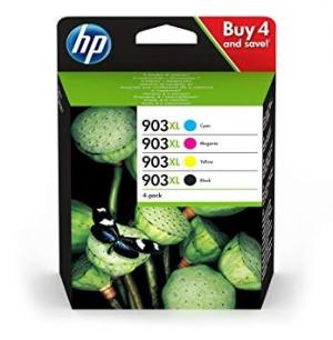 PACK CARTUCHOS HP 903XL 4 COLORES 1