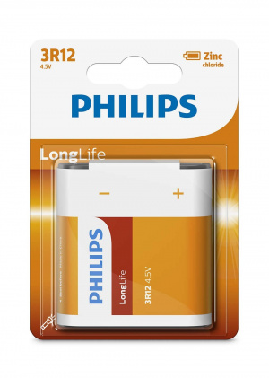 PILAS PHILIPS LONG LIFE 3R12  1.5V (PETACA) 1