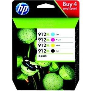 CARTUCHO HP 912XL PACK 4 RAINBOW 3YP34AE 1
