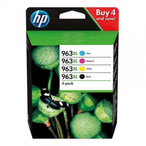 CARTUCHO HP 963XL PACK4 RAINBOW 3YP35AE 1