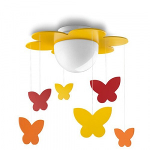 LAMPARA TECHO PHILIPS MERIA CEILING YELLOW 1