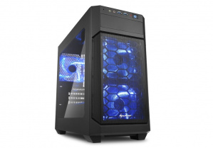 CAJA MICROATX SHARKOON V1000 WINDOW 1