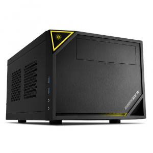 CAJA MINI ITX SHARKOON ZONE C10 2XUSB3.0 NEGRO 1