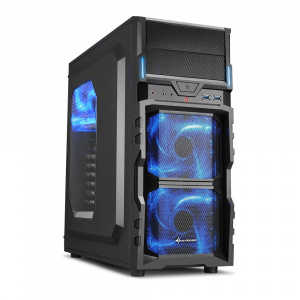 CAJA ATX SHARKOON VG5-WINDOW NEGRA 1