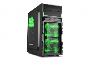 CAJA ATX SHARKOON VG5-WINDOW VERDE 1