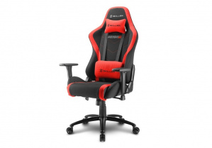 SILLA GAMER SHARKOON SKILLER SGS2 NEGRA ROJA 1