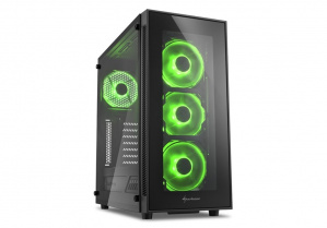 CAJA ATX SHARKOON TG5 GLASS VERDE 1