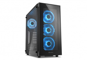 CAJA ATX SHARKOON TG5 GLASS AZUL 1
