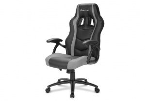 SILLA GAMER SHARKOON SKILLER SGS1 NEGRA GRIS 1