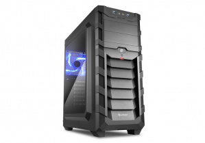 CAJA ATX SHARKOON SKILLER CASE SGC1 WINDOW NEGRA 1