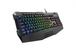 TECLADO GAMING SHARKOON SGK4 RGB USB 1